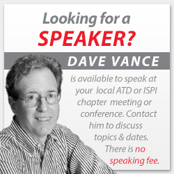 Speaking Engagements - Dave Vance